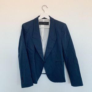 Zara Blazer in Blue